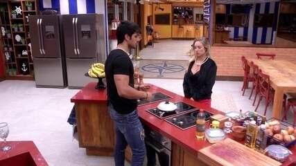 Jéssica aconselha Lucas após choro em saída de Nayara: 'Use isso para aliviar'