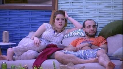 Mahmoud fala sobre próxima Prova do Líder: 'Três pessoas que não podem ganhar'