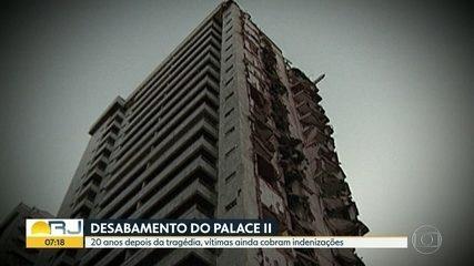 Após 20 anos, famílias ainda cobram justiça pela tragédia do Palace II