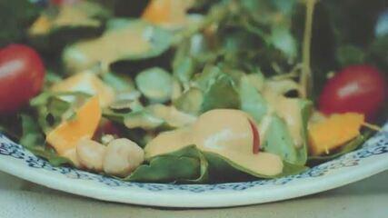 Molho de mostarda e melado