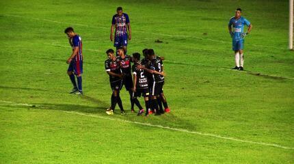 River-PI goleia o Piauí em clássico e assume a liderança do Piauiense 2018; veja os gols