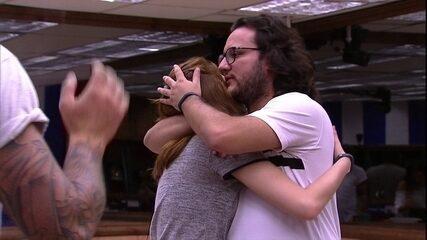 Ana Clara abraça Diego: 'Eu realmente não queria ter feito'