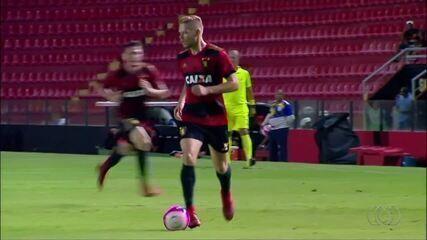 Marlone anota gol em goleada do Sport e é destaque no 'Gols Tocantinenses'