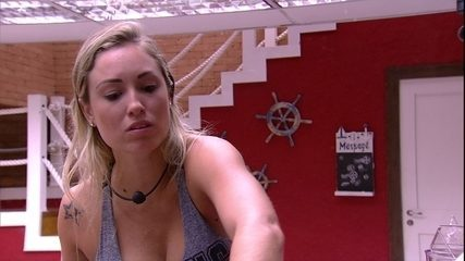 Jéssica alfineta Lucas: 'Acredita que eu gosto dele'