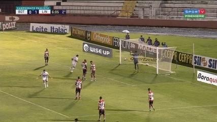 Melhores momentos de Botafogo 1 x 1 Linense, pelo Paulistão