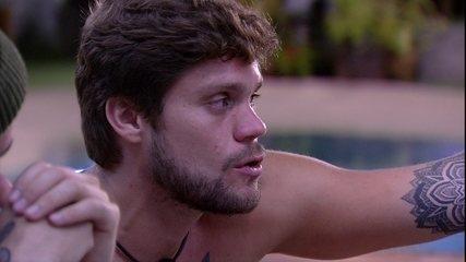 Breno diz que Kaysar só não foi 'banana' quando indicou Lucas ao Paredão