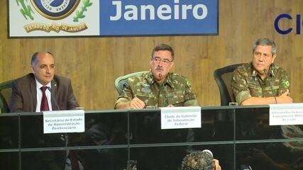 Chefe do Gabinete da intervenção federal pede cooperação dos órgãos de segurança