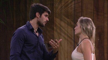 Lucas confessa arrependimento: 'A única coisa que me culpo aqui é do Paredão da Ana Paula'