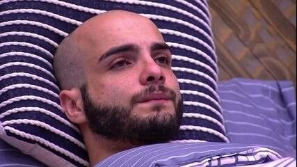 Mahmoud sobre Jéssica após eliminação de Lucas: 'Estou com dó'