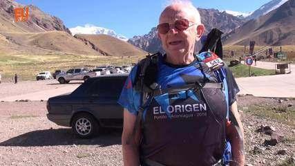 Hector Lopes, de 78 anos, participa de desafio do El Origen 2018