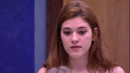 Após formação do Paredão, Ana Clara desabafa com Patrícia: 'Achei que era a Jéssica'