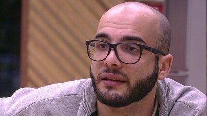 Mahmoud para Wagner: 'Se eu não tivesse senso de coletividade teria pego aquela bola'