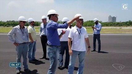 Novo aeroporto de Vitória é vistoriado pela Anac