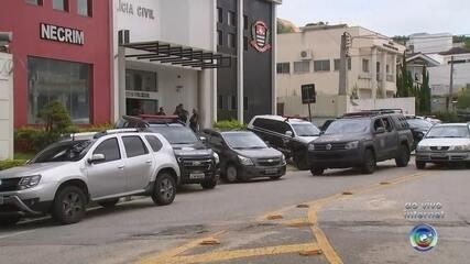 Operação da Polícia Civil é realizada em Sorocaba