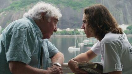 Confira uma cena entre os dois atores