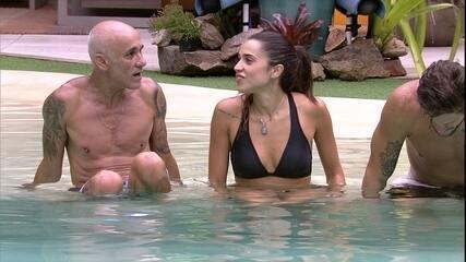 Paula diz que Jéssica e ela temiam Paredão