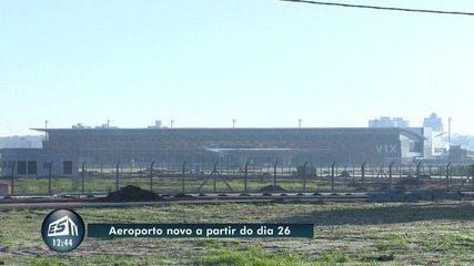 Novo Aeroporto de Vitória começa a operar no dia 26 de março