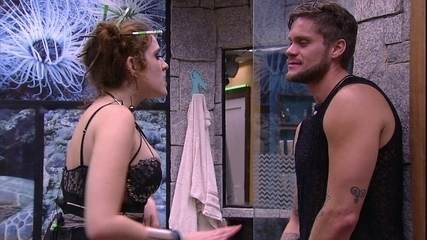 Ana Clara garante a Breno: 'Você e a Paula têm uma questão de escolha'