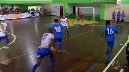 Angra dos Reis vence Barra Mansa e vira líder do grupo A da Copa Rio Sul de Futsal