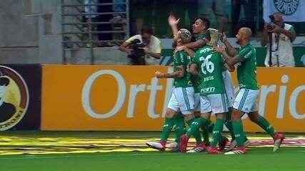 Os gols de Palmeiras 5 x 0 Novorizontino pelas quartas de final do Paulistão