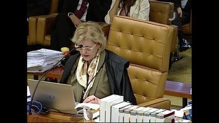 Rosa Weber vota em julgamento de pedido de habeas corpus de Lula no STF