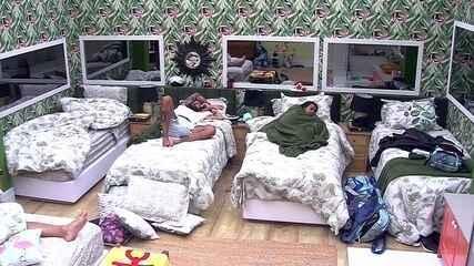 Gleici e Wagner dormem em camas separadas no Quarto Tropical