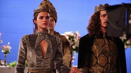 Veja os bastidores do casamento de Rodolfo e Catarina