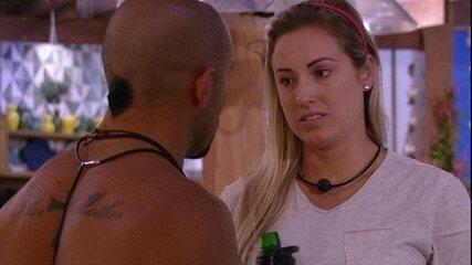 Jéssica para Kaysar: 'Eu sei que você não vai sair'