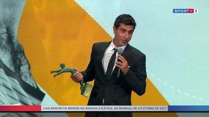 Caio Bonfim agradece por título de atleta da torcida