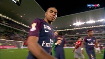 Os melhores momentos de PSG 3 x 0 Mônaco na final da Copa da Liga Francesa