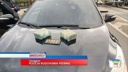 Polícia flagra motorista com R$ 200 mil em carro na Fernão Dias