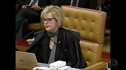 Rosa Weber vota por negar o habeas corpus ao ex-presidente Lula