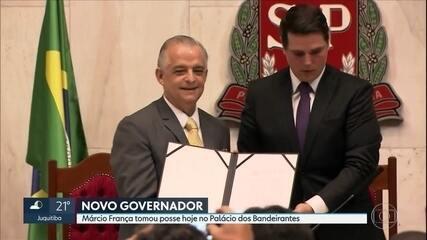 Márcio França assume nesta sexta (6) o governo de São Paulo