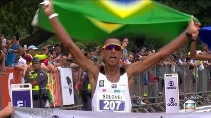 Solonei da Silva vence a Maratona de São Paulo com direito a dobradinha brasileira