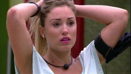 Jéssica lamenta com Kaysar: 'A gente errou feio'