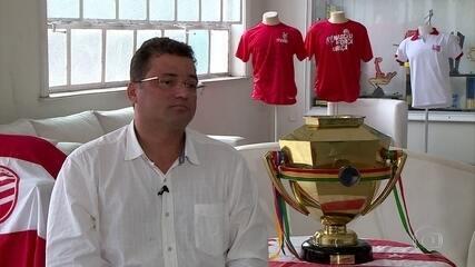 Presidente do Náutico, Edno Melo, traça diretrizes do clube após conquista do Estadual