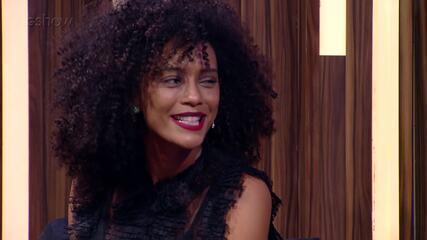 Taís Araújo relembra personagens que foram embaladas por músicas de Alcione