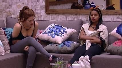 Ana Clara avisa Gleici: 'A gente tem que ganhar'