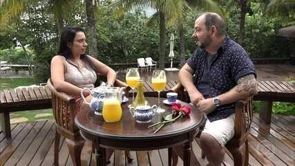'Tapa no Visual': Luana abre o coração para Beto Carramanhos