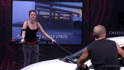 Gleici, Ana Clara e Kaysar cantam 'O grave bater'