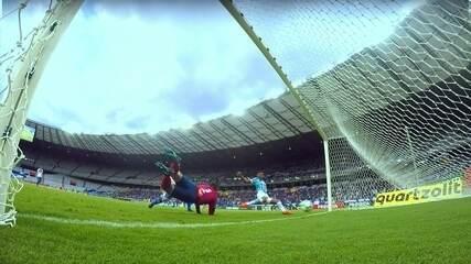 André dá a vitória ao Grêmio sobre o Cruzeiro em sua estreia