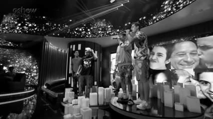 Veja o bastidor da homenagem para o cantor Leonardo no Tamanho Família
