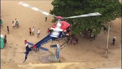 Ataque de tubarão, no Recife, deixa banhista em estado grave