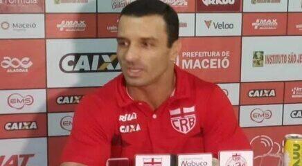 Ouça, na íntegra, a primeira entrevista coletiva do técnico Júnior Rocha no Ninho do Galo