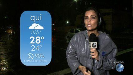 Previsão: tempo instável deve continuar até o sabado (21) em Salvador e RMS