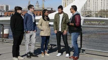 Conheça quatro estudantes baianos que foram seguir os seus sonhos na Argentina