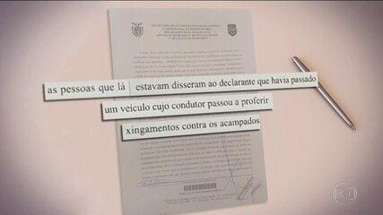 Polícia ouve depoimento de homem que foi baleado em ataque a acampamento pró-Lula, no PR
