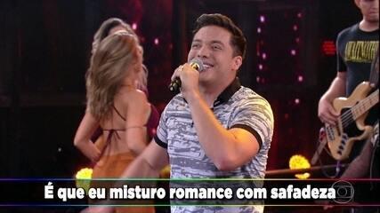 Wesley Safadão canta 'Romance Com Safadeza'