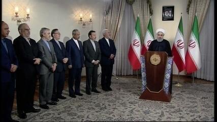 Governo do Irã diz que decisão de Trump é ilegal e ilegítima