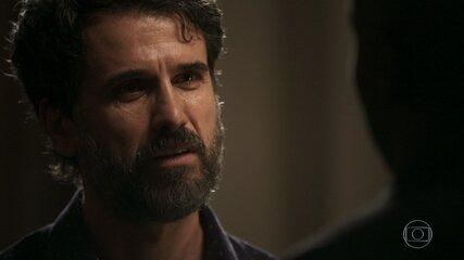 Samuel se desespera quando Cido afirma que decidiu ir embora